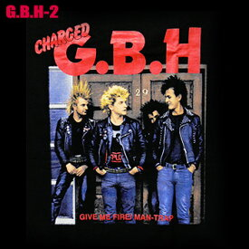 ROCK TEE G.B.H-2[ジービーエイチ]メール便送料無料 ロックTシャツ/バンドTシャツ 【smtb-kd】