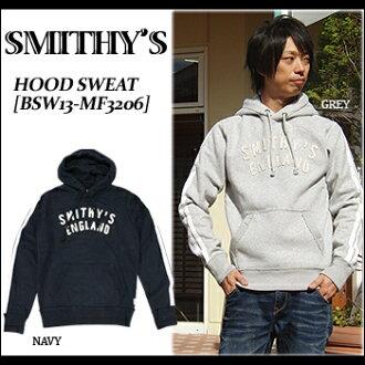 SMITHY'S ENGLAND(스미스 잉글랜드) Hood Sweat[BSW13-MF3206]스웨트 파커 풀오버리기모캐주얼 사탕 화재 맨즈
