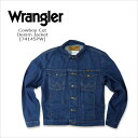 WRANGLER(ラングラー) DENIM JACKET@ Cowboy Cut [74145PW] デニムジャケット USA ブロークンデニムトラッカージャケ…