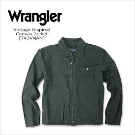 WRANGLER(ラングラー) CANVAS JACKET@ Vintage Inspired [743VNAN] コットンジャケット USA トラッカージャケット 米国ライン 【smtb-kd】【RCP】