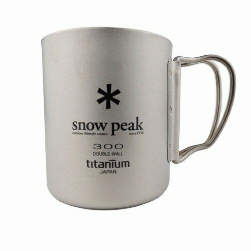 チタンダブルマグ300フォールディングハンドル snowpeak(スノーピーク)