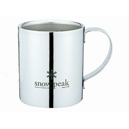 スノーピークロゴダブルマグ240 snowpeak(スノーピーク)