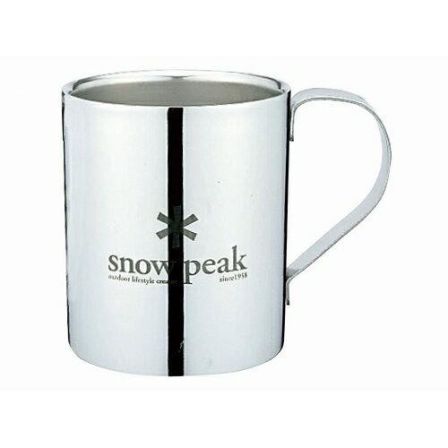 スノーピークロゴダブルマグ330 snowpeak(スノーピーク)