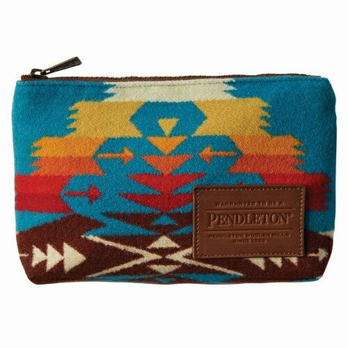 ZipPouch PENDLETON(ペンドルトン)(ジップポーチ)-54452Tucson/Turquoise