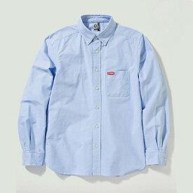 CHUMSOXShirt CHUMS(チャムス)(チャムスオックスシャツ)-BlueLogo