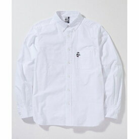 CHUMSOXShirt CHUMS(チャムス)(チャムスオックスシャツ)-WhiteBooby