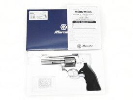 [マルシン] S&W M686 Xカートリッジ 6mmBB ガスリボルバー プラグリップ シルバーABS 022104/[新品]/シルバーABS/ガスガン
