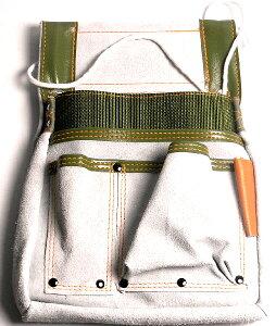 釘袋 工具袋 道具入れ [BIGMAN・ビッグマン]補強付大工腰袋 小 PK-900 DIY工具 大工道具