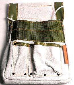 釘袋 工具袋 道具入れ [BIGMAN・ビッグマン]補強付大工腰袋 中 PK-901 DIY工具 大工道具