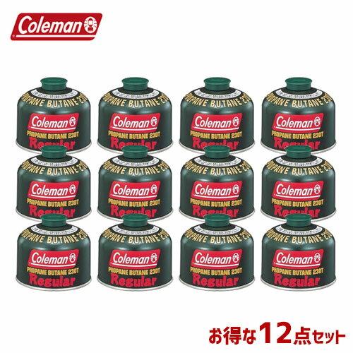 CM 5103A230T [12個セット!まとめ買い] 純正LPガス燃料[Tタイプ]230g 〔コールマン/Coleman〕