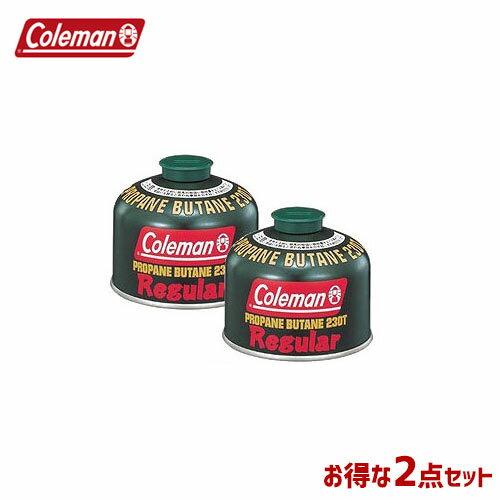 CM 5103A230T [2個セット!まとめ買い] 純正LPガス燃料[Tタイプ]230g 〔コールマン/Coleman〕