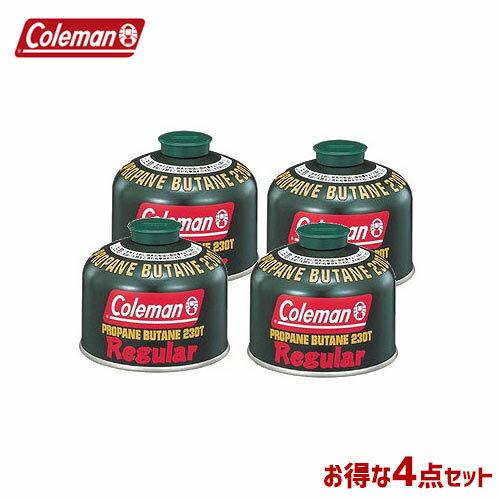 CM 5103A230T [4個セット!まとめ買い] 純正LPガス燃料[Tタイプ]230g 〔コールマン/Coleman〕