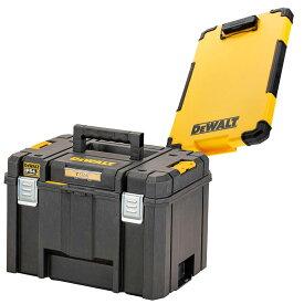 デウォルト DeWALT TSTAK ティースタック ラージボックス TSTAK 2.0 Large Box DWST83346-1 収納ケース 収納ボックス 収納BOX 4536178894395