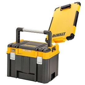 デウォルト DeWALT TSTAK ティースタック ラージボックス オーガナイザー -TSTAK 2.0 Large Box w/ organizer DWST83343-1 収納ケース 収納ボックス 収納BOX 4536178894494