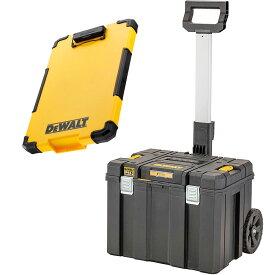 デウォルト DeWALT TSTAK ティースタック モバイルツールボックス ラージボックス キャリー TSTAK 2.0 Large Box w/ carrier DWST83347-1 収納ケース 収納ボックス 収納BOX 4536178894593