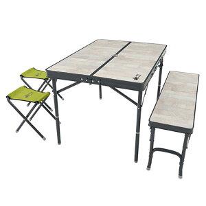 ロゴス LOGOS ROSY ファミリーベンチテーブルセット 73189057 4981325528614 WHATNOT