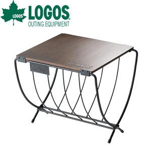ロゴス(LOGOS) ワイド薪ラックウッドテーブル 81064183 4981325534639 WHATNOT