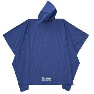 【ネコポス対応】ロゴス(LOGOS) LIPNER PVCポンチョ ブルー フリー 23712159 4981325550950 WHATNOT