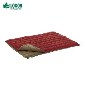 【クーポン利用で10%割引!】ロゴス(LOGOS) 寝袋 シュラフ72600690 2in1・Wサイズ丸洗い寝袋・0