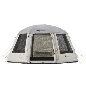 【10%OFFクーポン付】ロゴス LOGOS テント グランベーシック エアマジック オクタゴンドーム-BJ テント 71805541 4981325532178 WHATNOT