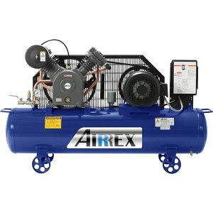 [代引き不可]コンプレッサー オイル式 5馬力 200V 3相 AIRREX エアレックス 業務用 日本製 アネスト岩田 HXT37EG-10M5 4900192010558 [メーカー直送]