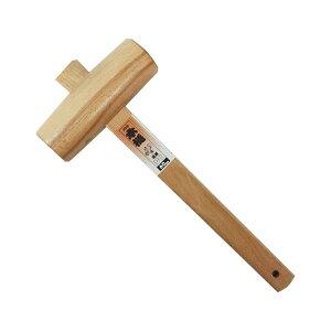 [BIGMAN・ビッグマン]闘牛 木槌 柾目60ミリ ハンマー づち 金槌 かなづち DIY工具