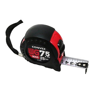 【送料無料】iHelp(アイヘルプ) WG コンベックス 25mm×7.5m マグネット付 IH-554 メジャー 計り WHATNOT