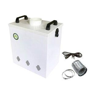 【10%OFFクーポン付】レーザーカッティングマシーン用集塵装置 LEA-05 ワークショップ 工作 日曜大工 工作 図工 刻印