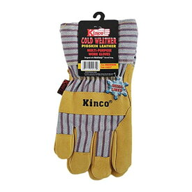 Kinco Gloves Lined Grain Pigskin Leather Palm 1927M