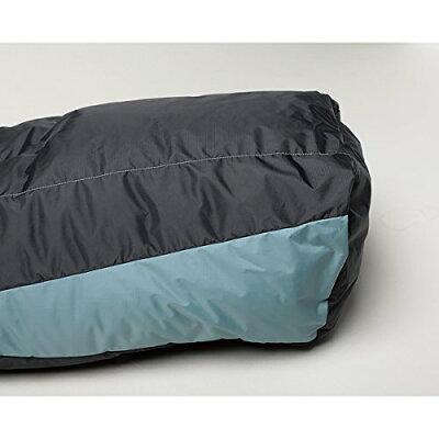 [ナンガ/NANGA]シュラフ寝袋オーロラ500STDGRY/BLKロング
