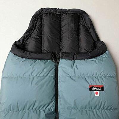 [ナンガ/NANGA]シュラフ寝袋オーロラ700STDGRY/BLKロングAUR113