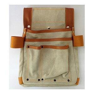 【送料無料】デルマ革釘袋 工具差付 中 PK-916 作業工具 作業雑貨 BIGMAN(ビッグマン)