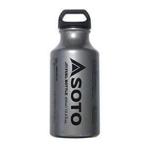 SOTO[ソト] キャンプ用品 MUKAストーブ専用燃料ボトル SOTO広口フューエルボトル400ml SOD-700-04
