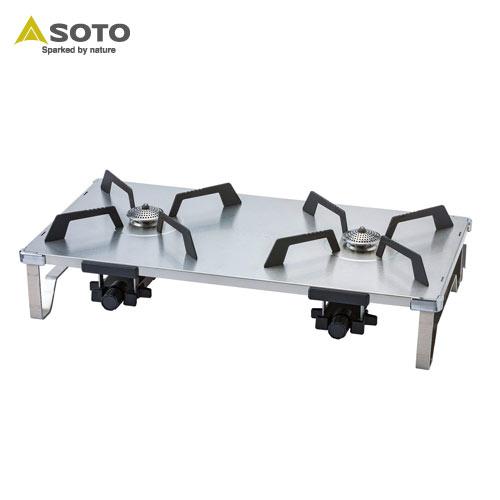 【クーポン利用で店内10%OFF】[SOTO/ソト]レギュレーター2バーナー GRID ST-526 ツーバーナー