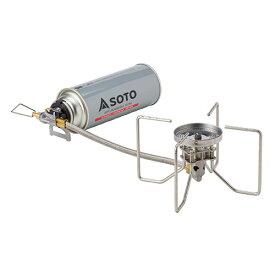 SOTO シングルバーナー シングルストーブ レギュレーターストーブ FUSION(フュージョン) ST-330 4953571073309