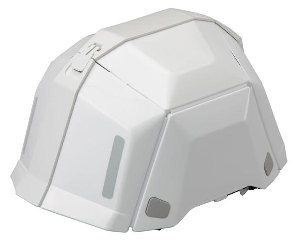 TOYO 防災用折りたたみヘルメット BLOOM II NO.101 ホワイト[ブルーム2]防災用折りたたみヘルメット ブルーム[トーヨーセフティ]