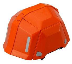 トーヨーセフティー TOYO 防災用折りたたみヘルメット BLOOM II NO.101 オレンジ[ブルーム2]防災用折りたたみヘルメット ブルーム