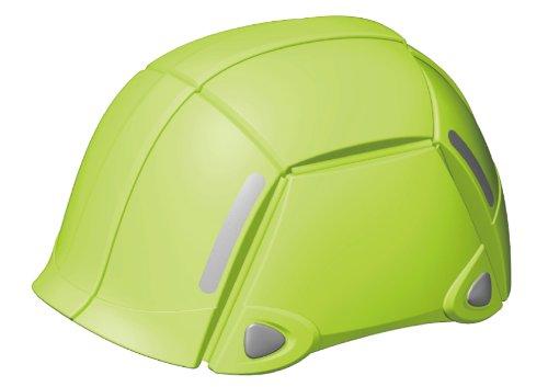 【スマホでP11倍!】TOYO BLOOM ライム NO.100 防災用折りたたみヘルメット ブルーム 安全 地震 工事 コンパクト 防災グッズ