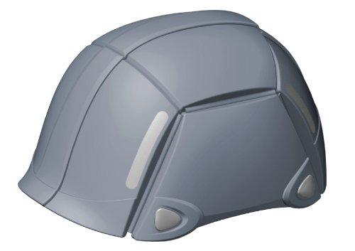 TOYO BLOOM グレー NO.100 防災用折りたたみヘルメット ブルーム