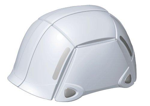 防災用折りたたみヘルメット 折りたたみヘルメット 防災 収納 TOYO トーヨーセフティー BLOOM ブルーム/ホワイト NO.100 4962087108412