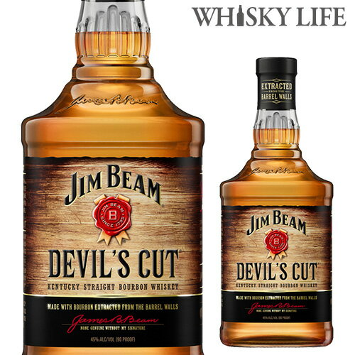 ジムビーム デビルズカット 700ml[長S] ウイスキー ウィスキー