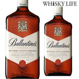 バランタイン ファイネスト 1000ml 1L [ウイスキー][ウィスキー]ブレンデッド スコッチ [長S]