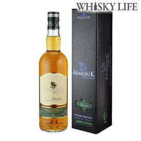 アルモリック デルヴェン フレンチ シングルモルト ウイスキー 700ml 46度フランス ブルターニュ ヴァレンギエム蒸留所 ウィスキーALMORIK singlemalt whisky [長S]