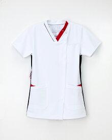 【ナガイレーベン】 医療用白衣 LX-4092 男女兼用 スクラブ 上衣 白衣  2018年新作商品