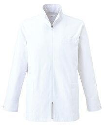 【unite×ミズノ】白衣 メンズドクターハーフコート 診察衣 長袖 MZ-0056