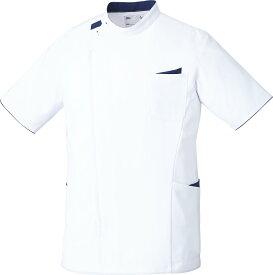 unite×ミズノ 白衣 ジャケット MZ-0161 半袖 上衣 男性用 メンズ