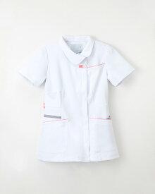 白衣 ナガイレーベン FT-4592 白衣 ナースウェア 半袖上衣 チュニック