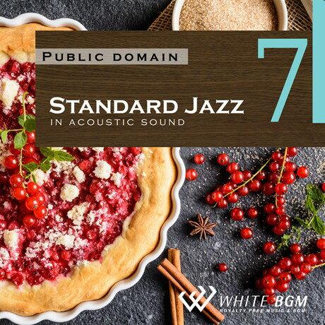 【商用音楽CD】Standard Jazz 7 - in アコースティックギター - (18曲 約61分)♪リラックス音楽 店舗・お店・施設・待合室・ショールーム・イベント 著作権フリー音楽 BGM CD  面倒な著作権処理不要