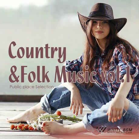 【店内音楽CD】Country&Folk Music vol.1(16曲 約61分)♪明るく軽快な音楽 店舗・お店・施設・ショールーム・イベント・ショー・展示会 著作権フリー音楽 BGM CD  面倒な著作権処理不要