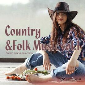 【店内音楽CD】Country&Folk Music vol.1(16曲 約61分)♪明るく軽快な音楽 店舗BGMやイベントに 著作権フリー音楽 ★ネコポスはCD2枚迄!CD3枚以上は宅急便を選択ください!